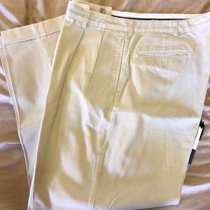 Men's polo slacks